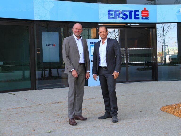 safeREACH und Erste Bank - Prünner & Scheller