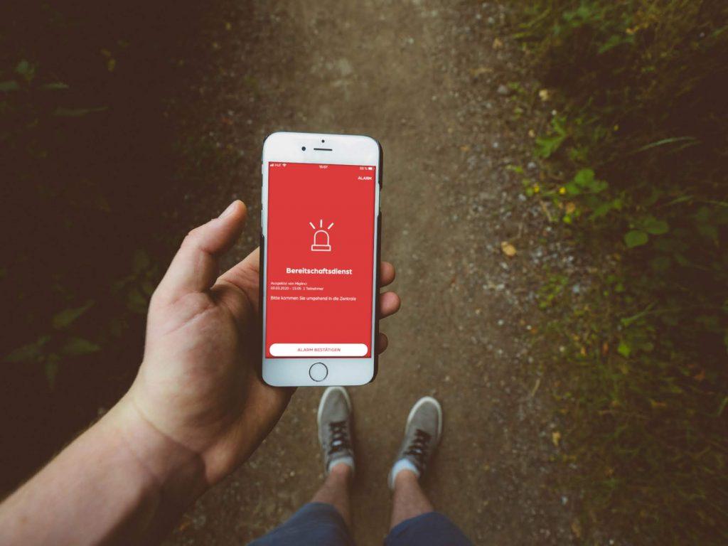 safeREACH Bereitschaftsdienst App